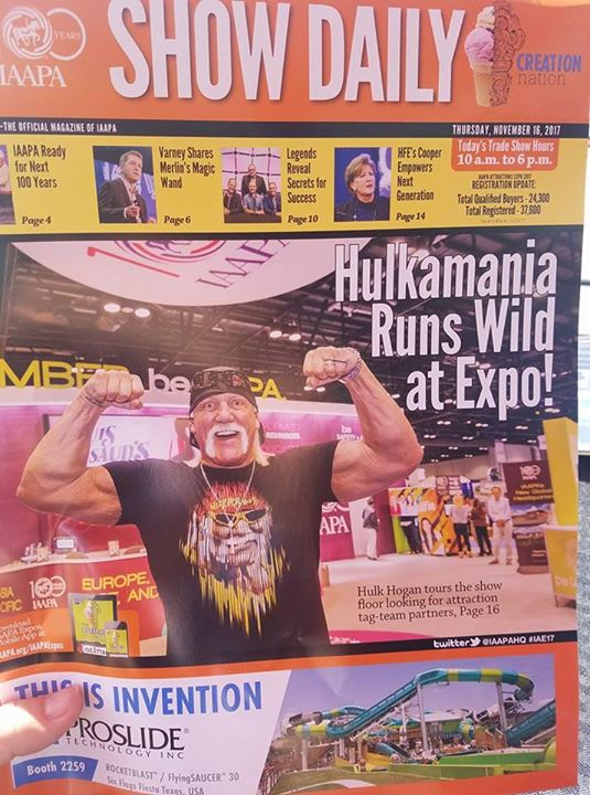 Hulkamania at IAAPA