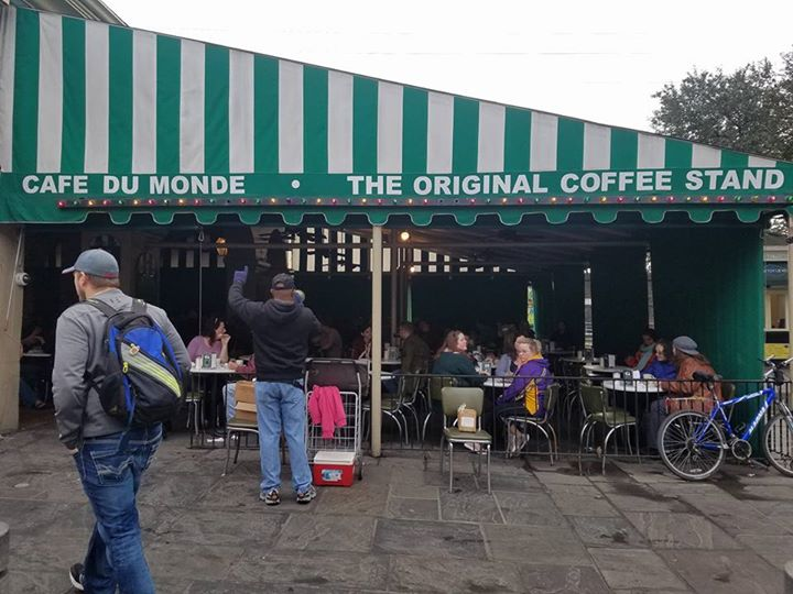 Meet Up at Cafe Du Monde?  It appears New Orleans, Louisiana was the location fo…
